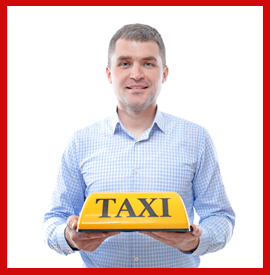 taxi, cab
